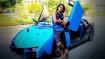 ಲ್ಯಾಂಬೊರ್ಗಿನಿ ಸ್ಪೋರ್ಟ್ಸ್ ಕಾರಿನಂತೆ ಮಾಡಿಫೈಗೊಂಡ ಮಾರುತಿ ಇಕೊ ಕಾರು