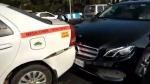 ಬೆಂಗಳೂರಿನಲ್ಲಿ ಸರಣಿ ಅಪಘಾತ- 7 ಕಾರು, ಒಂದು ಸ್ಕೂಟರ್ ಜಖಂ