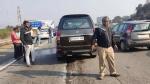ಚಿತ್ರನಟಿ ಕಾರು ಚಾಲಕನ ವಿರುದ್ಧ ಎಫ್ಐಆರ್ ದಾಖಲಿಸಿದ ಲಾರಿ ಡ್ರೈವರ್..!