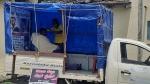 ಮೊಬೈಲ್ ಸಲೂನ್ ಮೂಲಕ ಹೊಸ ಕ್ರಾಂತಿಯನ್ನುಂಟು ಮಾಡಿದ ಚಿಕ್ಕಮಗಳೂರಿನ ಯುವಕ