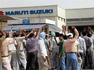 Maruti Workers Strike loss estimated at Rs 700 crore