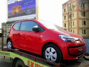 Volkswagen Up Sighted In Mumbai Before Auto Expo