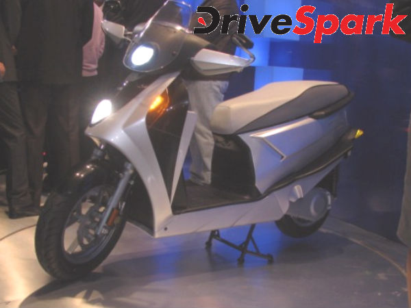 Hero Motocorp launches hybrid Concept scooter Leap