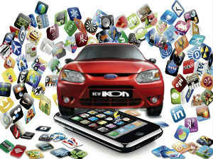 Ford Presents Futuristic Mobile Apps