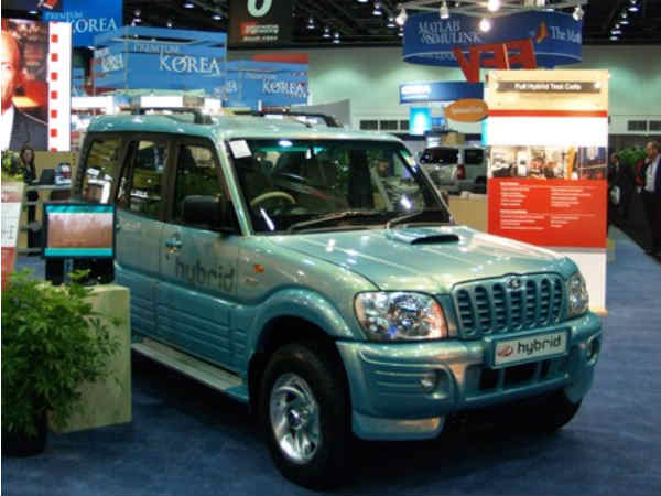 Mahindra Takes Hybrid Route, Planning Car By 2015