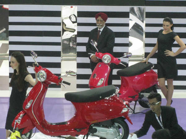 Piaggio Launches Vespa At Rs.66,661