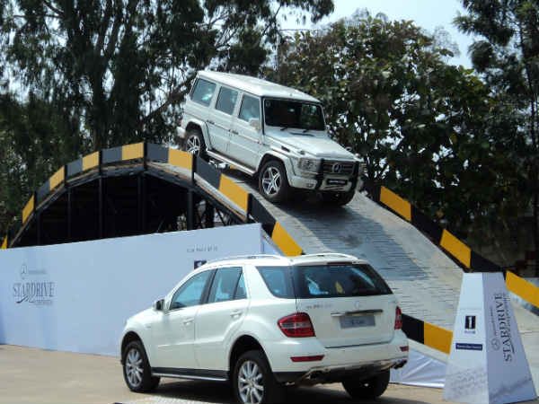 Mercedes Benz Organises Star Drive In Bangalore