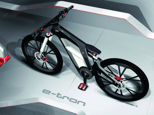 Audi e-bike Worthersee runs at 80 kmph