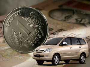 Toyota, GM To Hike Car Prices Over Falling Rupee