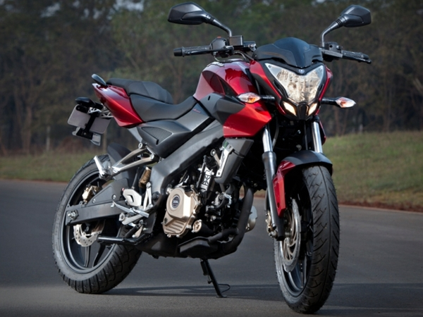 Bajaj Launched Pulsar 200NS in Pune