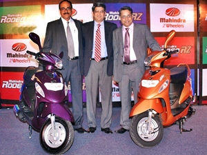 Mahindra Rodeo RZ Scooter launched in South India