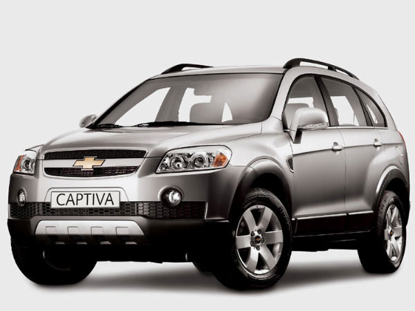Chevrolet Offers Whopping Rs 2 Lakh Off On Captiva