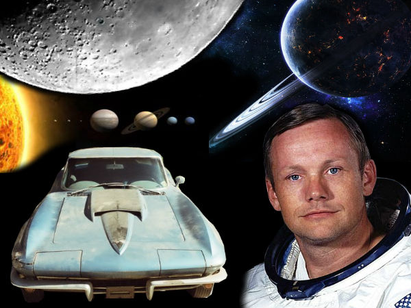First Man On The Moon Neil Armstrong's Corvette Car Action