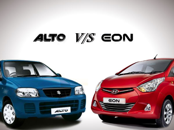 Hyundai Eon Vs Maruti Alto – The Final Result