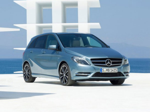 Mercedes Benz B-Class Unveiled In India
