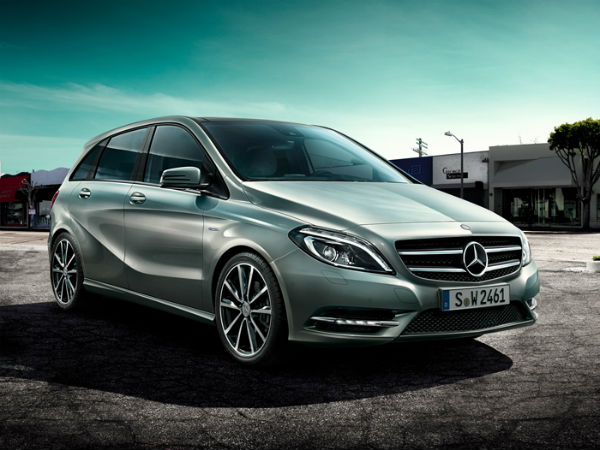 Mercedes Launches New B-Class At Rs.21.49L