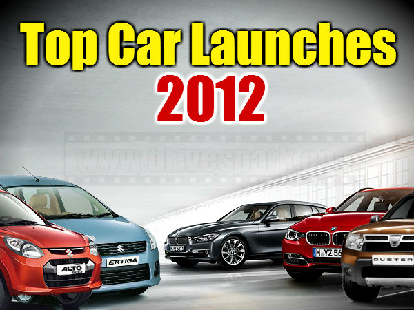 Top Car Launches In 2012