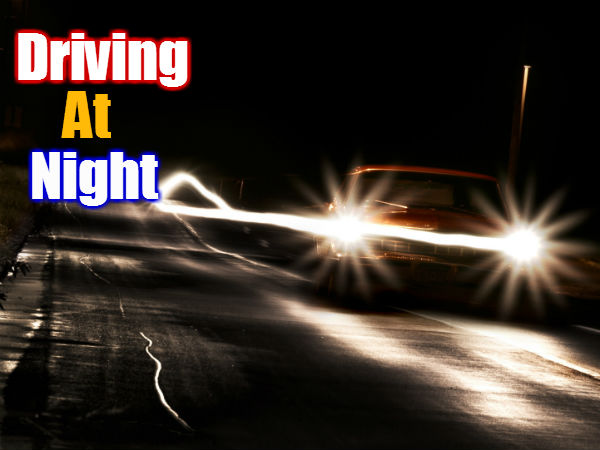 How To Drive At Night