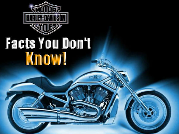 Harley Davidson Facts The You Did Not Know