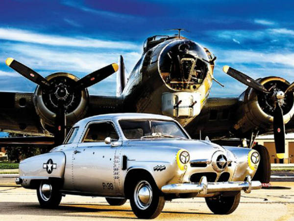 Cars Ispired By Airplanes And Fighter Jets