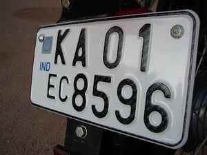 Government of India Vehicle Registration State Codes