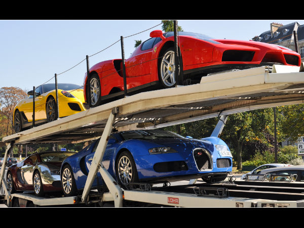 Dictator's Son's Seized Supercars, Sold For $4M