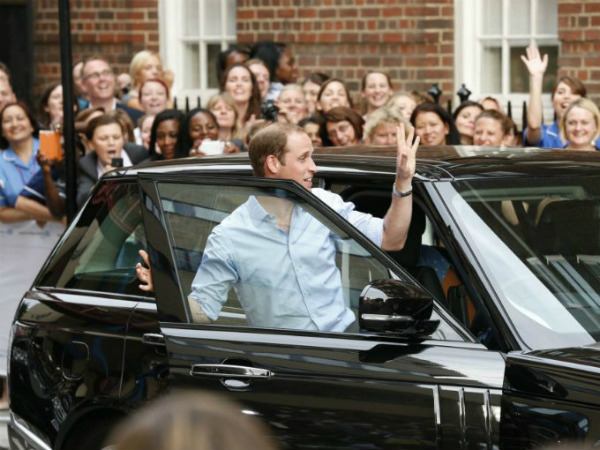Royal Baby's Royal Wheels