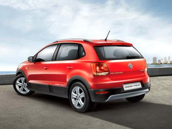 Volkswagen Cross Polo rear