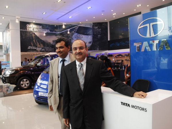 Tata Motors launches high-tech showroom in Bangalore
