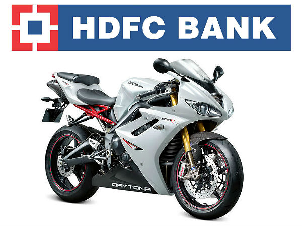 Triumph Motorcycles With HDFC Finance Option