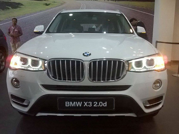 2014 bmw x3 launched in india at a starting price of rs 44 9 lakh kannada drivespark. Black Bedroom Furniture Sets. Home Design Ideas