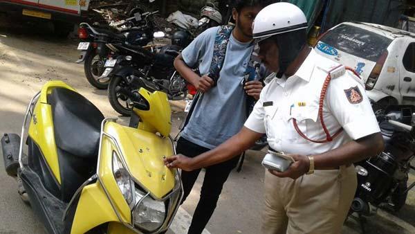 ಟ್ಯಾಂಪರ್ ನಂಬರ್ ಪ್ಲೇಟ್ ವಿರುದ್ಧ ಕಾರ್ಯಾಚರಣೆ - 940 ಪ್ರಕರಣ ದಾಖಲು