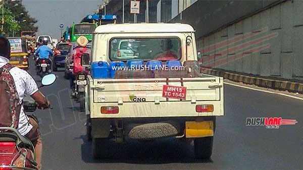 ಸ್ಪಾಟ್ ಟೆಸ್ಟ್ ನಲ್ಲಿ ಕಂಡು ಬಂದ ಮಹೀಂದ್ರಾ ಬಿಎಸ್ 6 ಬೊಲೆರೊ ಪಿಕ್ ಅಪ್