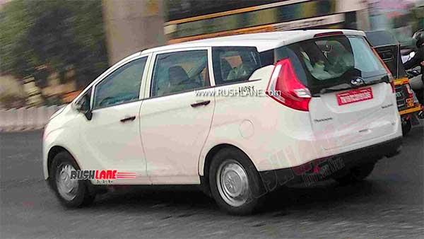 ಸ್ಪಾಟ್ ಟೆಸ್ಟ್ನಲ್ಲಿ ಕಾಣಿಸಿಕೊಂಡ ಬಿಎಸ್-6 ಮಹೀಂದ್ರಾ ಮರಾಜೊ