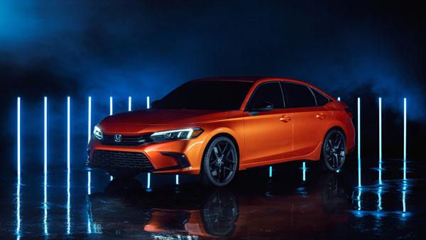 Honda unveils the prototype of the 2022 Civic