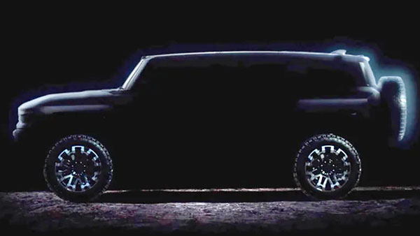 GMC reveals images of the long-awaited Hummer Electric SUV