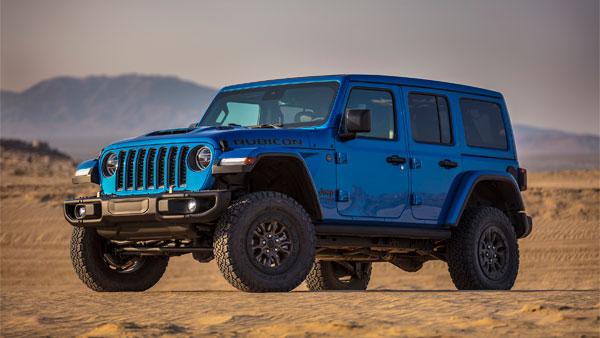 Unveiled new Jeep Wrangler Rubicon 392 SUV