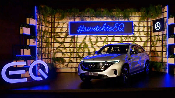 The latest update is the Mercedes-Benz EQC Electric SUV