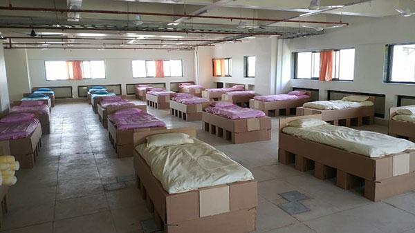 ಕೋವಿಡ್ ಸಂಕಷ್ಟ: 200 ಹಾಸಿಗೆಗಳನ್ನು ದೇಣಿಗೆ ನೀಡಿದ ಎಂಜಿ ಮೋಟಾರ್