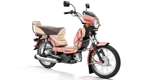 ಹೊಸ ಬಣ್ಣದ ಆಯ್ಕೆಯಲ್ಲಿ ಬಿಡುಗಡೆಗೊಂಡ TVS XL100 ಮೊಪೆಡ್
