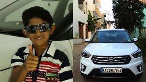 ಬೆಂಗಳೂರಿನಲ್ಲಿ ಕಾರು ಚಾಲನೆ ಮಾಡಿದ 10 ವರ್ಷದ ಬಾಲಕ..!