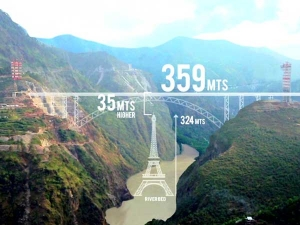 ಐತಿಹಾಸಿಕ ಐಫೆಲ್ ಟವರ್ಗಿಂತಲೂ ಎತ್ತರವಾಗಿದೆ ನಮ್ಮ ದೇಶದ ಈ ರೈಲ್ವೇ ಬ್ರಿಡ್ಜ್