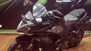 ಡೀಲರ್ ಬಳಿ ಕಾಣಿಸಿಕೊಂಡ ಹೊಸ ಕವಾಸಕಿ ನಿಂಜಾ 1000 ಎಸ್ಎಕ್ಸ್ ಬೈಕ್