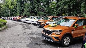 ಒಂದೇ ದಿನದಲ್ಲಿ 50 ಸ್ಕೋಡಾ ಕುಶಾಕ್ ಕಾರುಗಳನ್ನು ವಿತರಣೆ ಮಾಡಿದ ಪಿಪಿಎಸ್ ಮೋಟಾರ್ಸ್