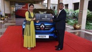 ಜೀವಮಾನದ ಸಾಧನೆಗಾಗಿ ಬಾಕ್ಸರ್ ಮೇರಿ ಕೋಮ್ ಅವರಿಗೆ ವಿಶೇಷ ಉಡುಗೊರೆ ನೀಡಿದ Renault India