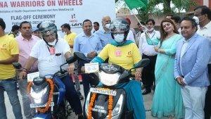 ಕೊರೋನಾ ವಾರಿಯರ್ಸ್ಗೆ ದ್ವಿಚಕ್ರ ವಾಹನಗಳನ್ನು ಕೊಡುಗೆ ನೀಡಿದ Hero MotoCorp
