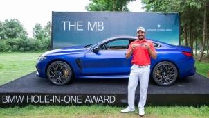 ಬಿಎಂಡಬ್ಲ್ಯು ಎಂ8 ಕಾರು ಗೆದ್ದ ಭಾರತೀಯ ಗಾಲ್ಫ್ ಆಟಗಾರ