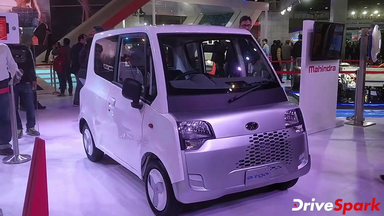 Mahindra Showcases Atom At Auto Expo 2020